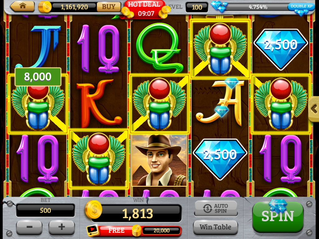 Royal Slots Journey - Slot game by Stonehenge Games